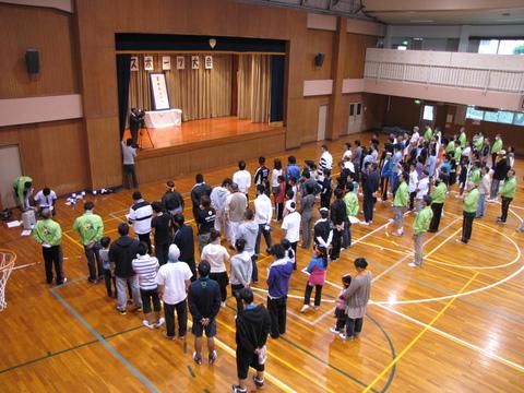 教区スポーツ大会・開会式