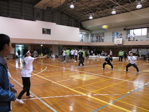 教区スポーツ大会・試合風景1