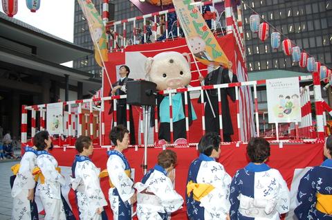 南御堂盆踊り2009