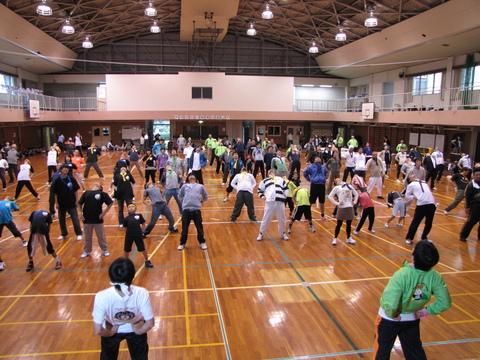 教区スポーツ大会・準備体操