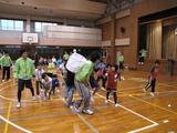 教区スポーツ大会・休憩時間の子ども向けゲーム