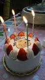 ブットンくんケーキ