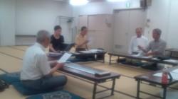 御遠忌音楽法要練習 伝研の会 20120606