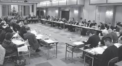 委員会各部会から説明と確認が行われた総会