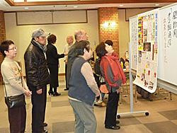 3月2日 組同朋大会で、壁新聞「第2組通信」のお披露目をしました。