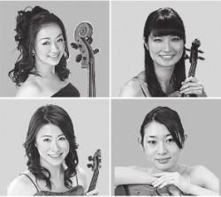 相愛大学音楽学部卒業生による4人のグループの「Dolce」
